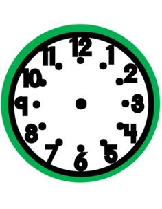 Use these clock faces for games, centers, classroom display, and more!...