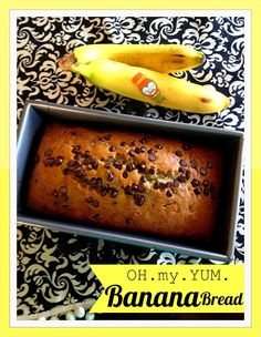 Marci Coombs: OH.my.YUM. Banana Bread Recipe.