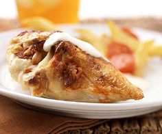 Cheese-Stuffed Chicken