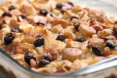 PANELATERAPIA - Blog de Culinária, Gastronomia e Receitas: Torta Rabanada c/ Banana e Passas