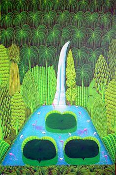Henry Robert Bresil - Haitian Masters , Haitian Paintings , Haiti Paintings , Haiti Art , Haitian Art !