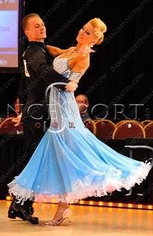 Mikolay Czarnecki and Charlene Proctor dance the Waltz at the Cleveland Dancesport Championships 2013.  Photo by Alex Rowan