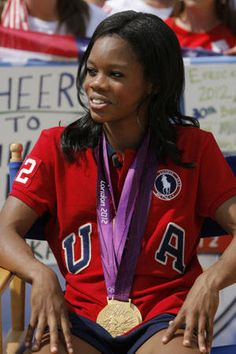 Gabrielle Douglas hopes to return in 2016 (Getty Images)