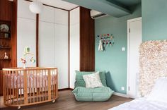 MODERN NURSERY & BIRD'S EGG via Houzz. #laylagrayce #nursery