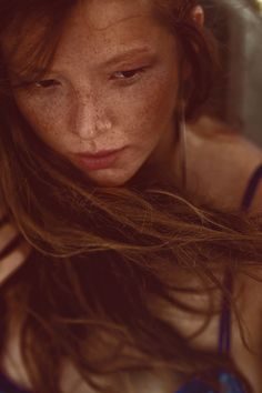 Freckles - The Last Breath of the Summer Wind -  Polina Rabtseva shot by Ian Sobolev, 2011