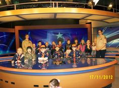 Cub Scouts from Pack 370 visit KETK Studios