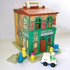 sesame street!  Had this one; loved little people!