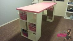 craftroom4  like this craft table for cutting out or working on large projects