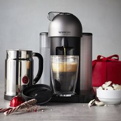 Nespresso Vertuoline w/ Aeroccino Plus $349 and you get a $50 gift card. So basically you get the Aeroccino free. Pretty sweet deal.