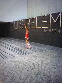 En el súper hotel de diseño #AltisBelem de #Lisboa !! Que cool!!   via Maria León - Twitter @María León Castillejo   #Portugal