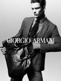 Various shades of Giorgio Armani (the designer, not the label) - GIORGIO ARMANI