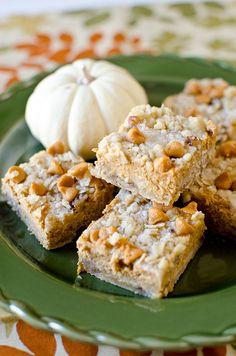 Pumpkin Pie Bars » Pennies on a Platter
