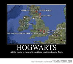 Magic can't hide you Hogwarts… @Jordan McFarland
