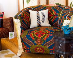 Moroccan style chair vintage chairs, living rooms, loft, living room designs, chair design, throw pillows, bohemian design, live room, bold colors