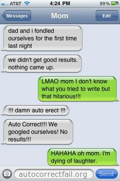 Popular Autocorrect Fails | Autocorrect Fail - Hilarious Auto Correct blunders and funny texts from your mobile phone!
