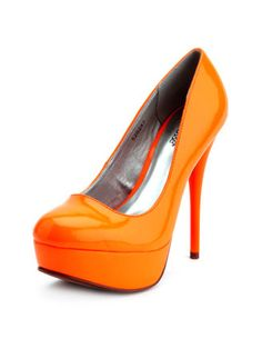 Orange pumps!