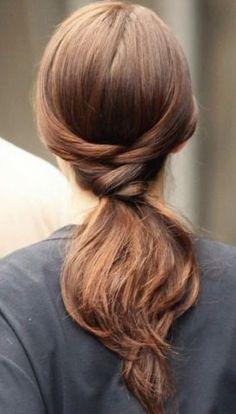 rabo-de-cavalo hair idea