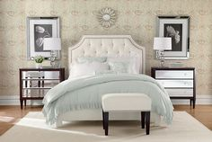 Ideas for the master bedroom.