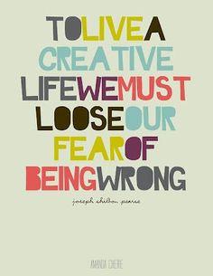 Perdiendo el miedo.