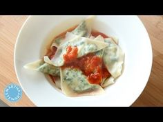 ▶ Kale and Ricotta Ravioli - Everyday Food with Sarah Carey - YouTube