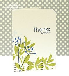 Another beautiful card by Julie Ebersole using Amuse Studio stamps!