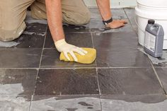 The secret to a good stone-tile floor installation?  Using an uncoupling membrane to prevent tiles from cracking or popping loose. Follow our step-by-steps, and do it right. | Photo: Wendell T. Webber | thisoldhouse.com