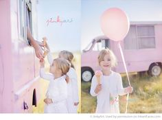 Ice Cream Themed Photo Inspiration by Jinky Art
