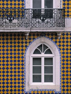 Window, Bairro Alto, Lisbon, Portugal