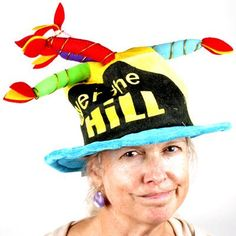 Over The Hill Birthday Cake Hat