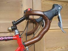 leather handlebar wraps