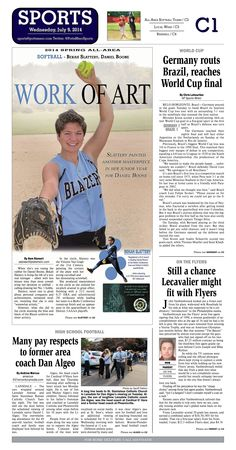 Daniel Boone's Bekah Slattery was named the 2014 All Area Softball Player of the Year. Read more at http://www.gametimepa.com/Sports/ci_26112278/SOFTBALL:-Daniel-Boones-Slattery-named-2014-Mercury-AllArea-Player-of-the-Year