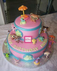THE LITTLEST PET SHOP — Children's Birthday Cakes