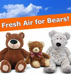 More Ways to Play & Learn: Fresh Air for Bears! #MelissaAndDoug #creativeplay
