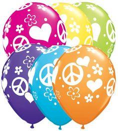 Peace balloons