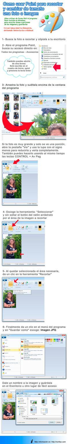 Como usar Paint para recortar y cambiar de tamaño de fotos e imágenes