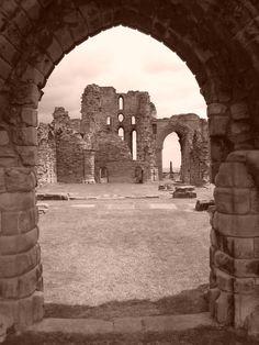 The Priory, Tynemouth, England