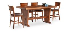 Oak Express: Boulevard 5 Pc. Counter Height Dining Group