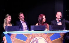 #dwtsatsea judges: interesting, informative and fun on #halcruises at sea version of #dwts
