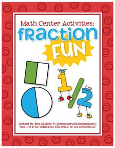 Fractions - center ideas