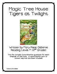 Magic Treehouse on Pinterest | Comprehension Questions, Book Clubs an ...
