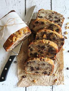Super Moist Chocolate Chip Walnut Banana Bread