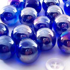 cobalt blue marbles