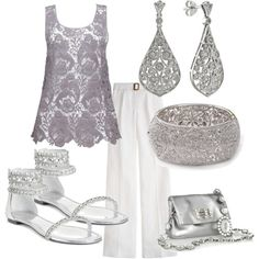 Make the Evening Sparkle, created by pjm27 on Polyvore