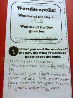 FREE! Wonderopolis Trifold classroom idea, upper grade, literaci, nonfict, center idea, read, librari, awesom, wonderopoli trifold