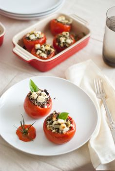 quinoa stuffed tomatoes recipe