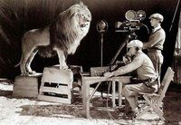 shooting the MGM logo