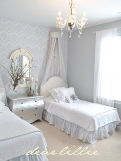 Lovely little girls room. #coastalliving #coastaldecor