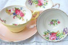 pretty china cups
