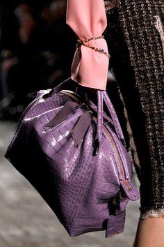 Nina Ricci, purple bag
