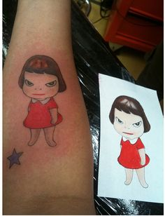 yoshitomo nara tattoo.